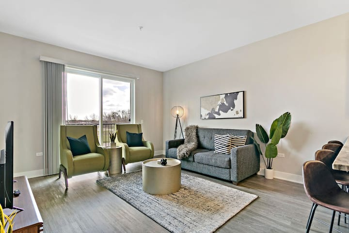 Artsy 2BR Apt. Oakbrook, Absolutely Beautiful!