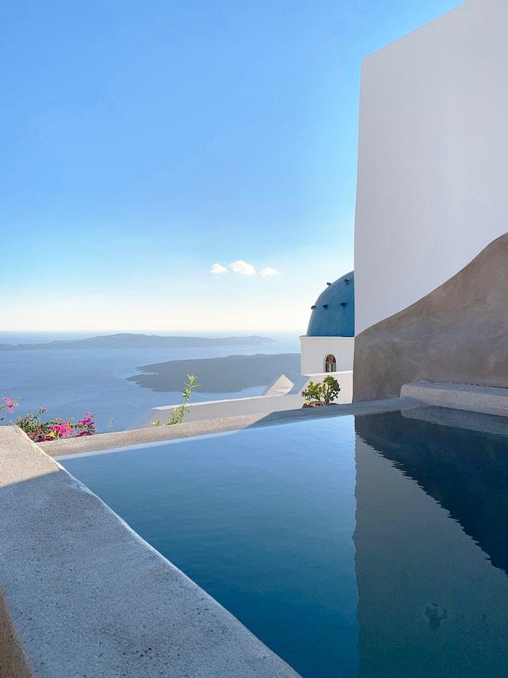 Luxury Villa BLUE DOME, the 5* villa experience