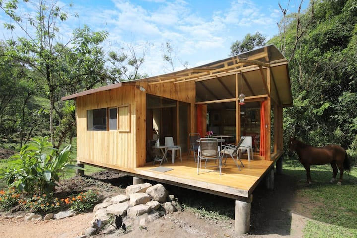 Mindo Eco Suite with River & Waterfalls