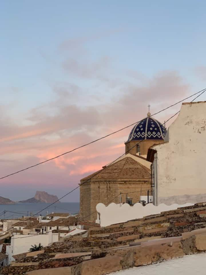 Gorgeous house, Old Town Altea with stunning view