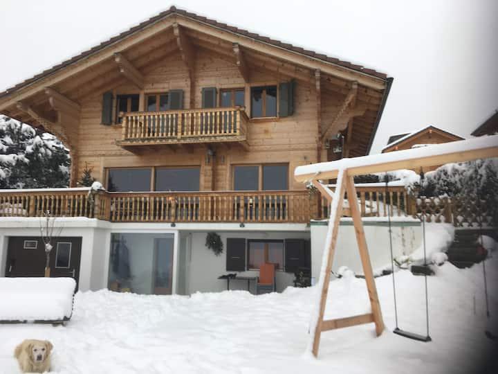 Appartement de vacances à la Holena: vue superbe !