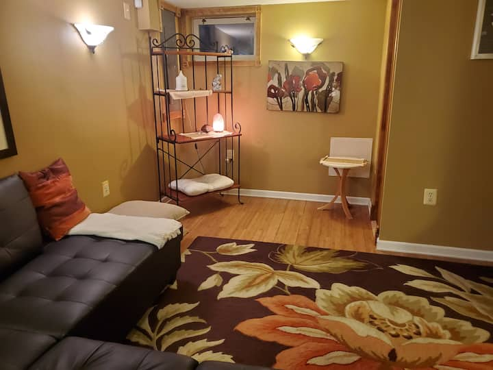 Home Away from Home Zen Style Basement Apartment