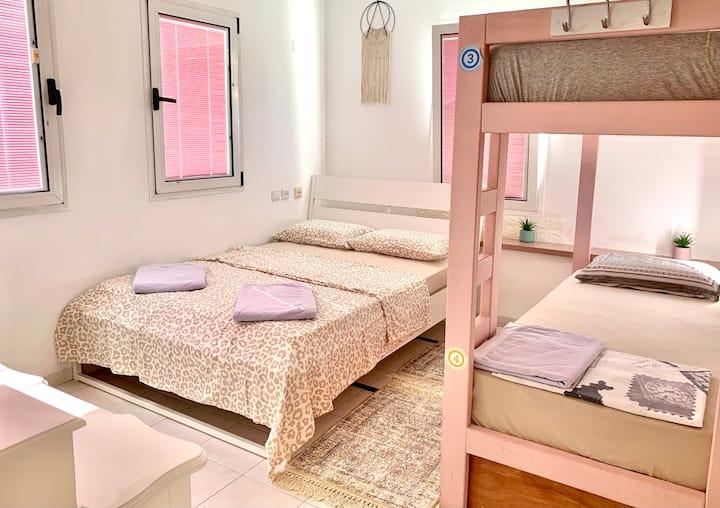 Quadruple Room on the Villa (4 people)
