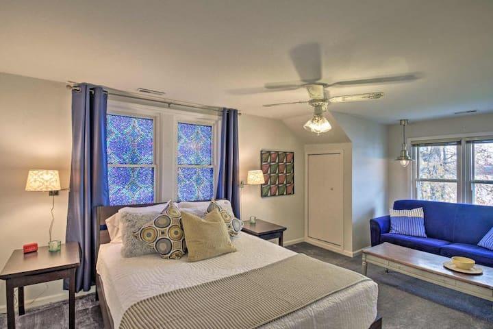 2nd floor: bedroom #4 with additional sleeper sofa