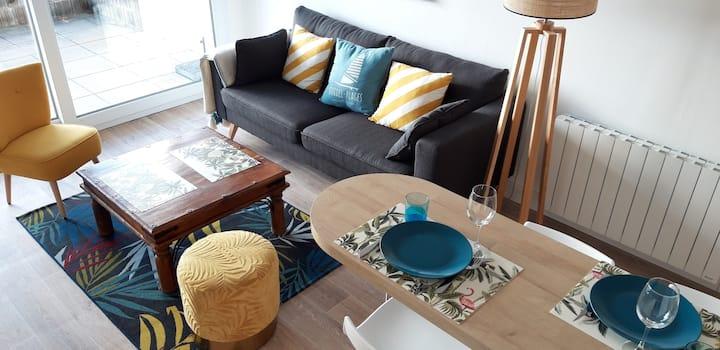 """Bel Appartement 11 au RDC vue mer au """"MAEVA"""""""