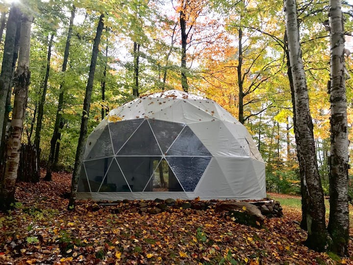 *NEW* Charming eco-luxury Glamping Dome & Cabin