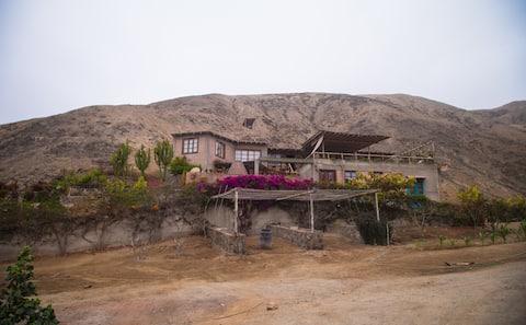 Casa de campo Hidden Paradise - Coayllo