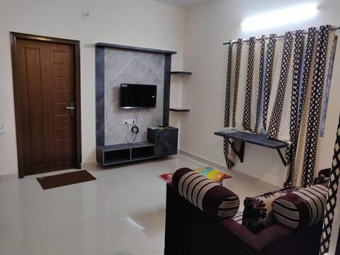 Entire TwoBedroom Apartment-Kitchen-Wifi-Bangalore
