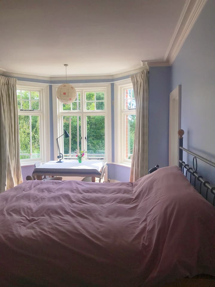 Large sunny room with en-suite, walkable to sea