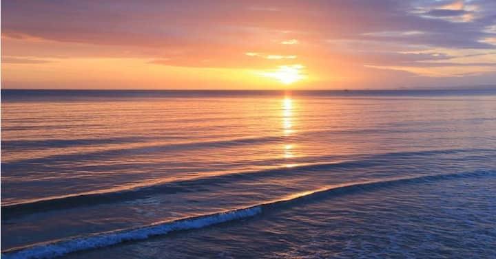 La plage à vos pieds