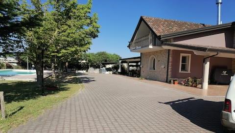 Chambre Dotto piscine de vacances Capaccio Matinella