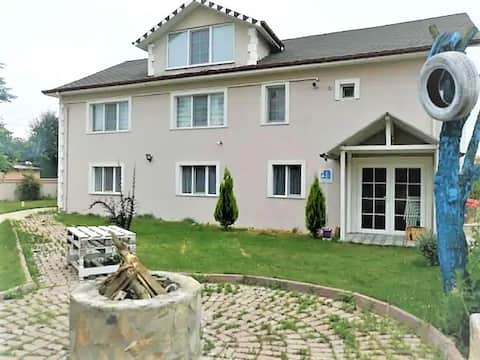 Your home in Bolu with basic household furniture and garden