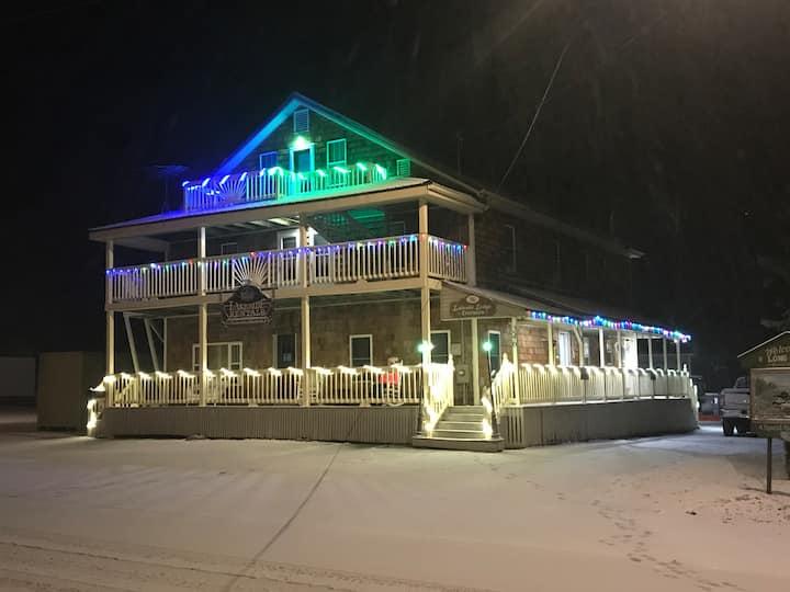 Lakeside Lodge Suite #5 Rental in Sinclair, Maine