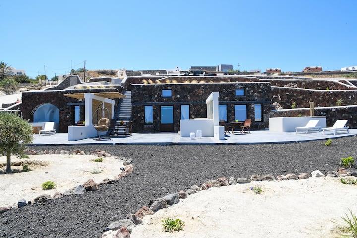 NEW Efis Home Sea View 3 Villas & 3 Prive Jacuzzi