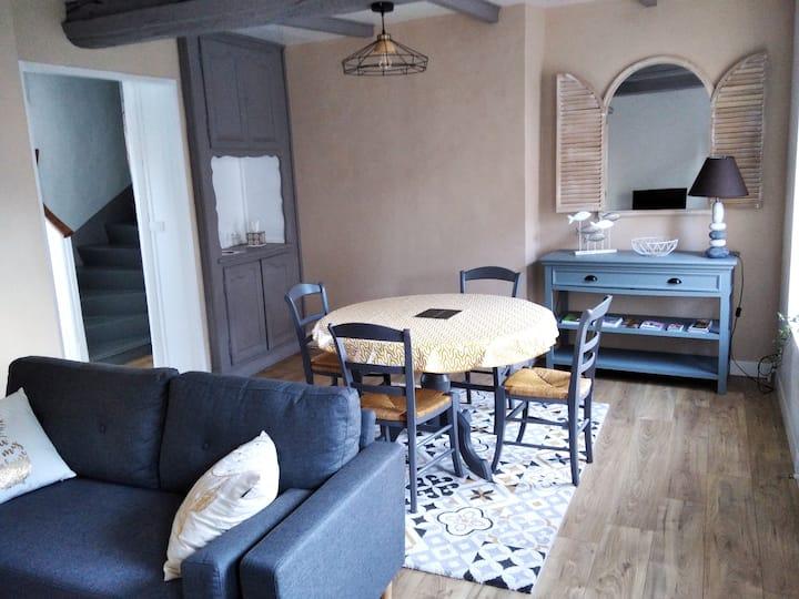Appartement cosy aux portes d'Etretat