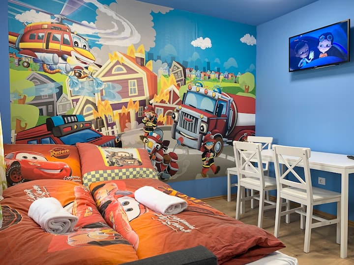 Firefighter Apartment for family - Zalakaros