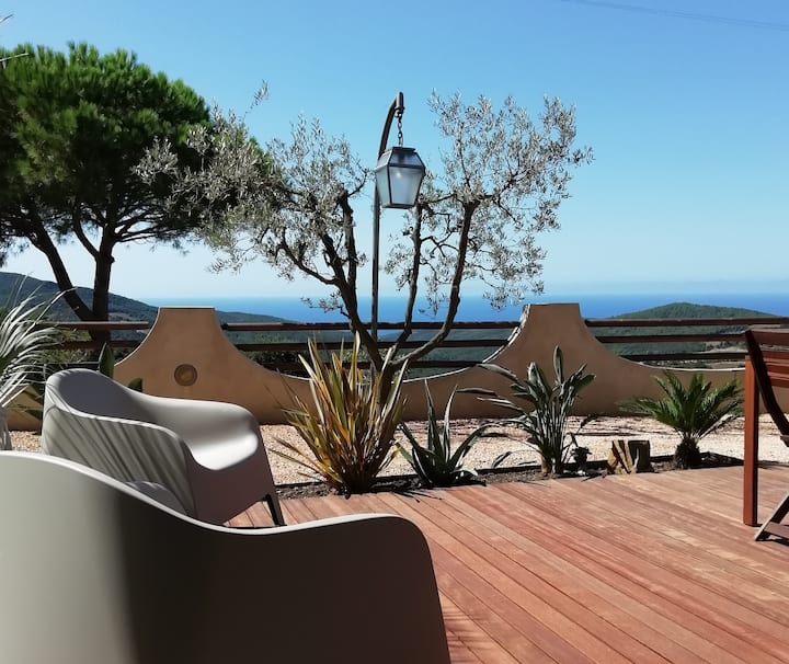 VerdeMare House with a view