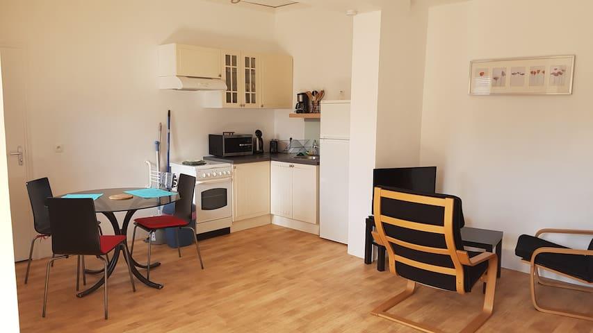 Studio de 32 m2 à 5 minutes des thermes