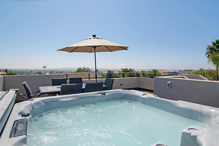 Rooftop Hot Tub with Ocean Views, New House!