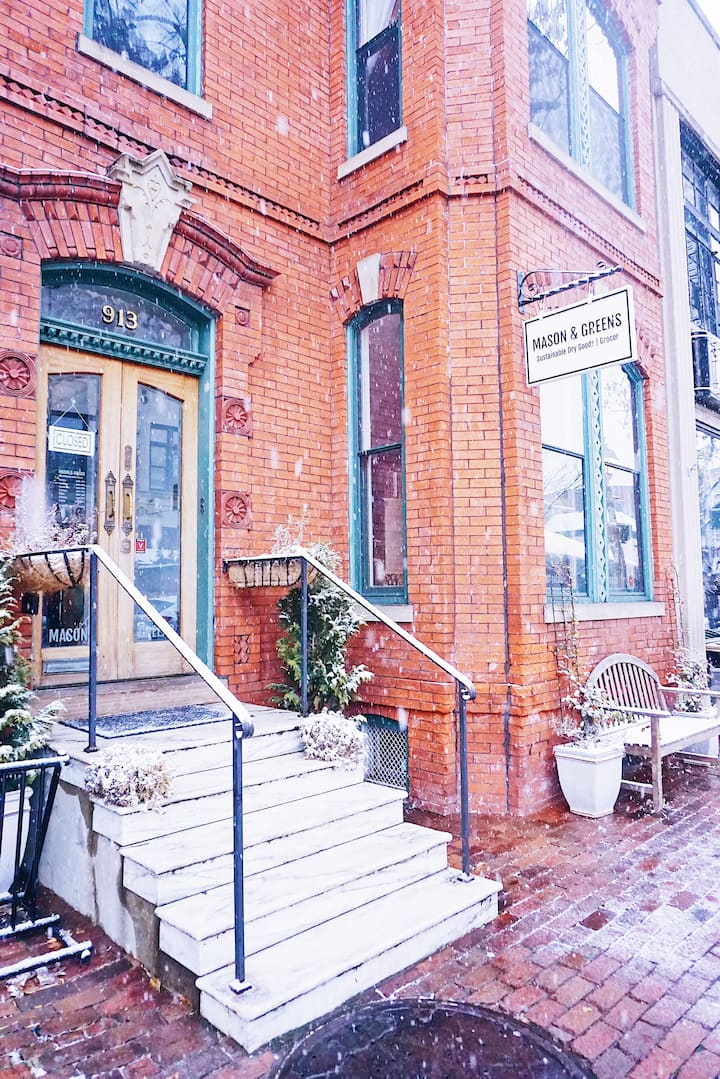 Sustainable Stay in Historic Alexandria