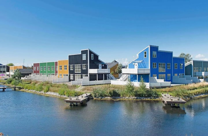 "8 person holiday home, ""Øer Maritime holiday park"""