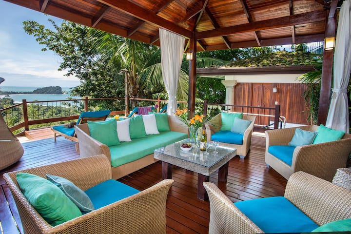 Luxury Balinese Villa 3br Ocean View Private Pool