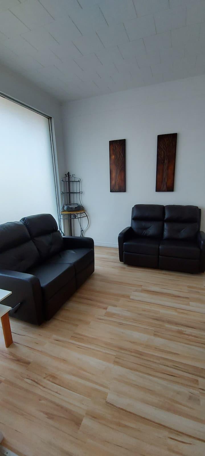 Appartement de base à Paspébiac avec 2 chambres