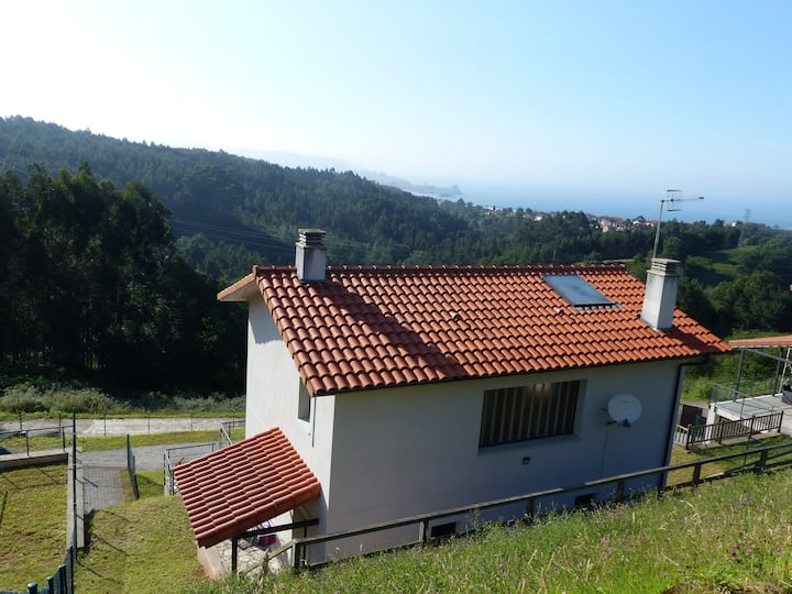 Casa de Ris - Mountain and sea views