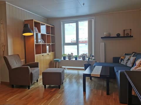 Central & Cozy apartment in downtown Longyearbyen