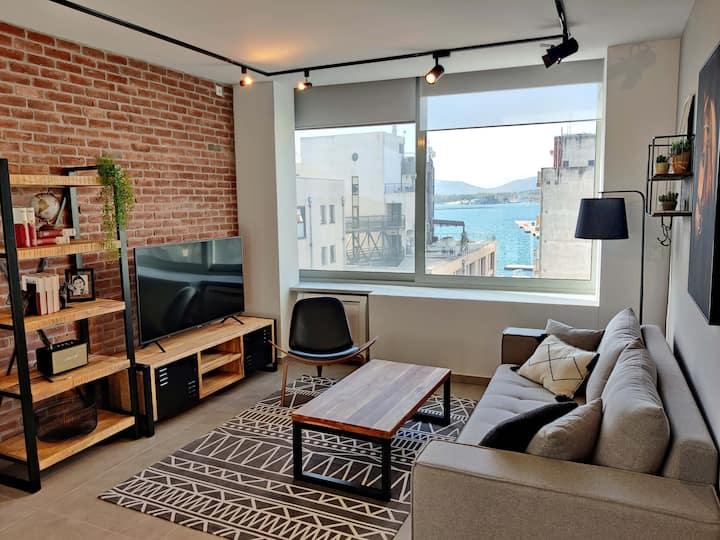 Κεντρικό διαμέρισμα απέναντι από το λιμάνι #2