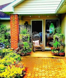 Entrance  to our home-  Easily accessible-