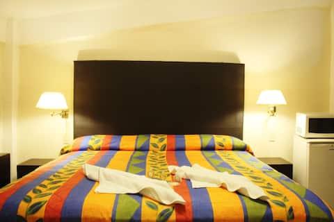 Los servicios de un gran hotel a excelente precio.