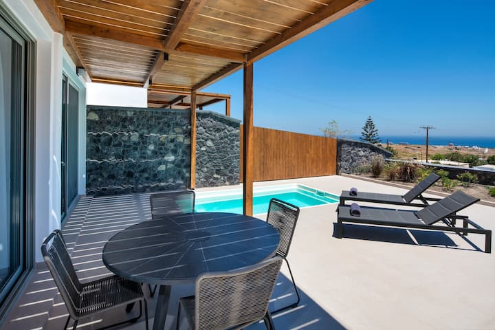 Gonia Residence Villa S w outdoor plunge pool