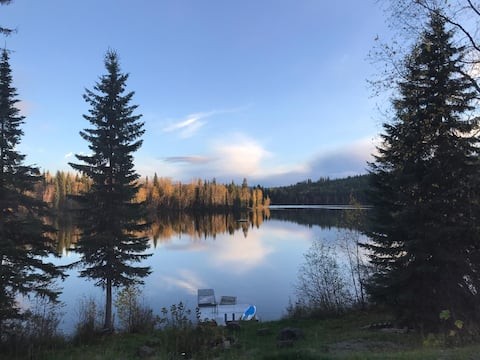 Cariboo private lakefront escape