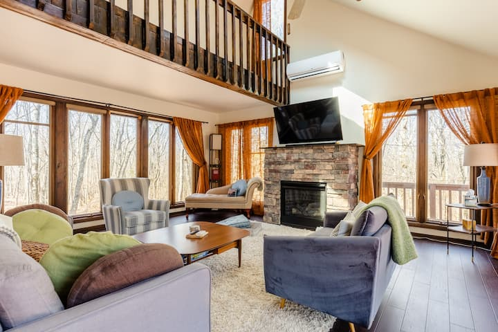 Private, wooded escape: 4 bedroom/2 bathroom