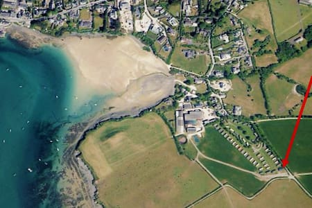 *NEW* Luxury Chalet | 400 Yards to Porthilly Beach