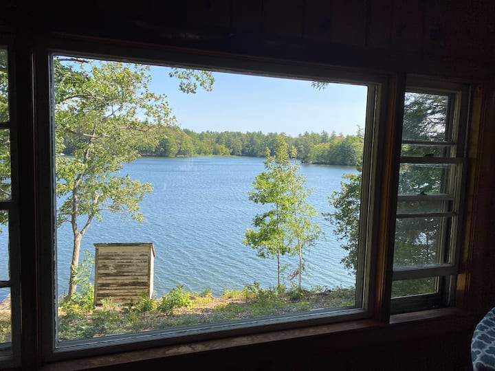 Lake house in Litchfield Maine