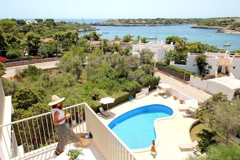 Niu d 'Aus Apartments, Portopetro (sea view)