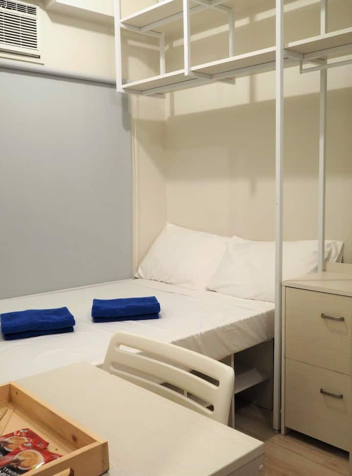 Ricarte BGC: Fully Furnished Studio for 2 near BGC