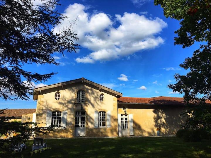 Maison au cœur du vignoble de Mauvesin Barton