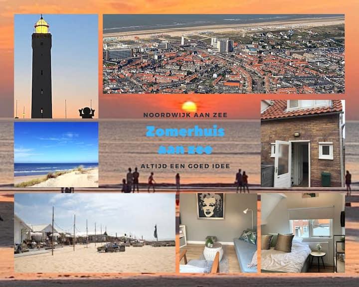 Zomerhuis aan Zee (top locatie op 400 m van zee)