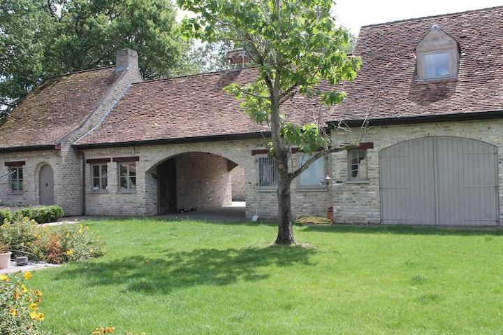 landelijke cottage in rust en stilte