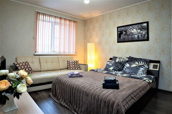 Уютная квартира в живописном районе Калуги