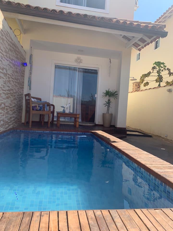 Casa com piscina Praia Rasa - BÚZIOS