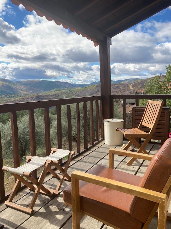 Casa na montanha-Na paz de Palas ... casa da Vinha