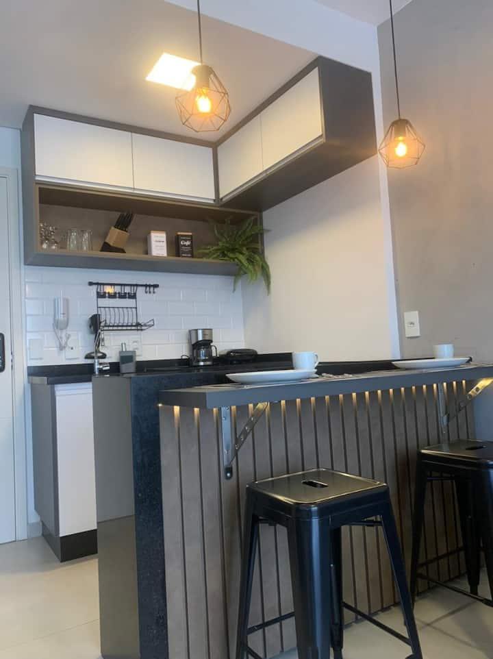 Apartamento estúdio Duo JK