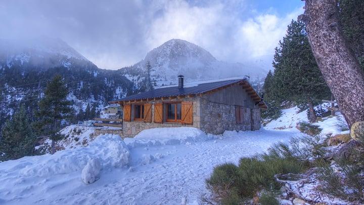 Xalet a la  neu - Parc Natural del Ter-2000 mtr