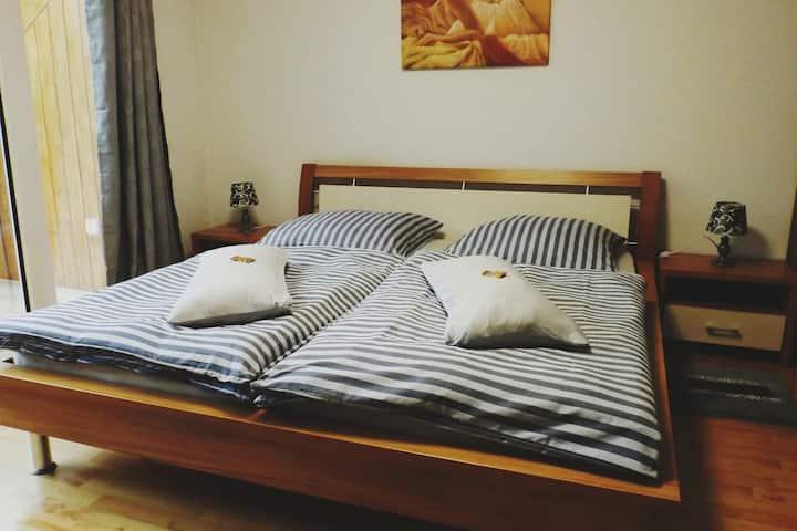 Idyllisch gelegenes Appartement/Zimmer