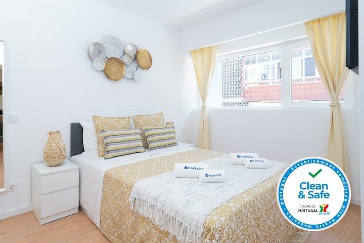 3 Restfull Cozy Flats w/ Balcony | Gaia
