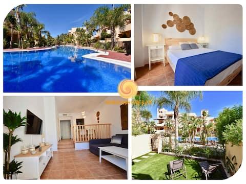 Bahía Marinas-Tu casa al sol con jardín privado!